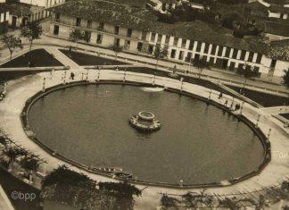 Lago Uribe Uribe, década del 40